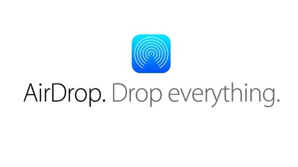 AirDrop, tính năng chia sẻ không dây giữa các máy tính Mac