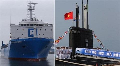 Kilo Hải Phòng bỏ eo biển Malacca, đi đường nào về Singapore?