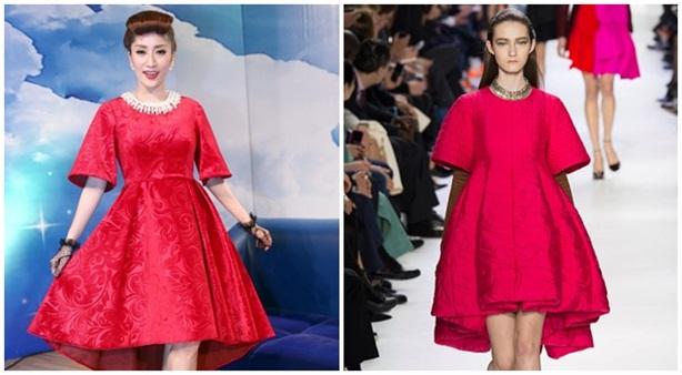 Nghi án Khánh Thi 'đạo' thiết kế của hãng thời trang Dior