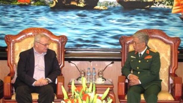Tướng Vịnh:Hợp tác quốc phòng Việt-Mỹ ngày càng hiệu quả
