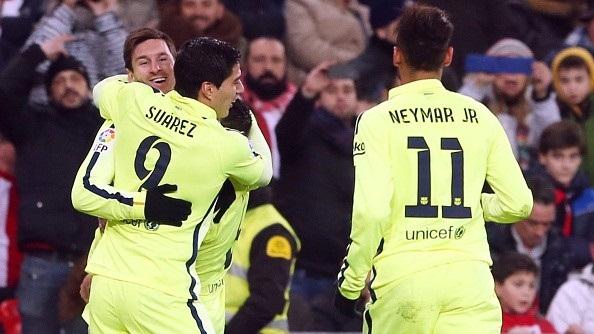 Barca 5-2 Bilbao: Bộ 3 khẳng định đẳng cấp