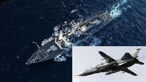 """""""Kiếm sĩ"""" Su-24MR Nga: Hung thần của chiến hạm Mỹ"""