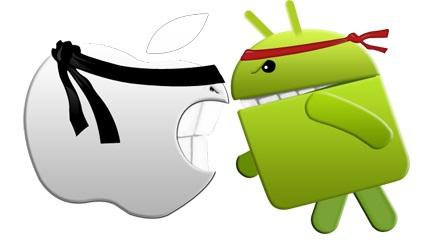 iOS 8 không ổn định bằng Android 5.0
