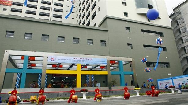 Bệnh viện Nhi Trung ương khánh thành khu khám bệnh hiện đại