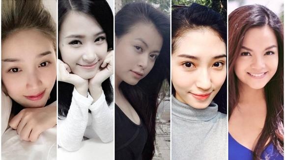 Minh chứng cho các mỹ nhân mặt mộc đẹp tự nhiên không dao kéo