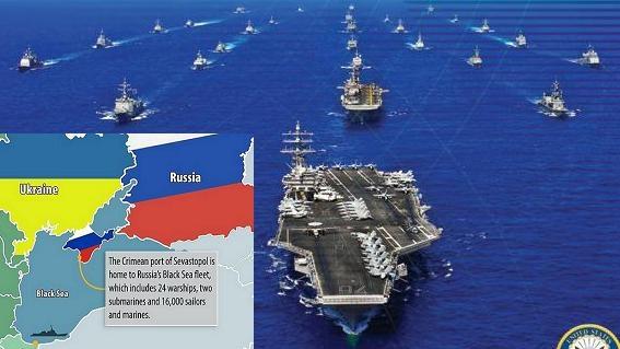 """""""Mùa xuân Crimea"""": Phá âm mưu của Cụm TSB Mỹ"""