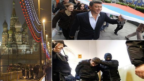 Sát thủ chuyên nghiệp Nga chê kẻ bắn Nemtsov 'quá nghiệp dư'