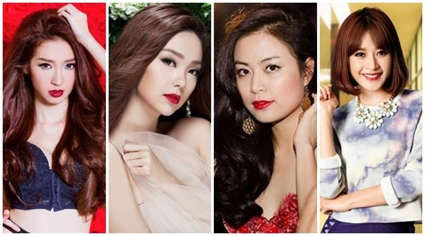 Những mỹ nhân Việt 'mê hoặc' lòng người với màu son đỏ