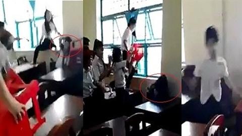 Phụ huynh học sinh đánh bạn xin bãi nại, đền tiền