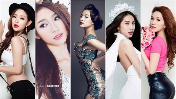 Những mỹ nhân Việt 'tỏa sáng như nữ thần' khi đứng trên sân khấu