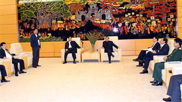Độ sang trọng khu đón nguyên thủ ở Nội Bài