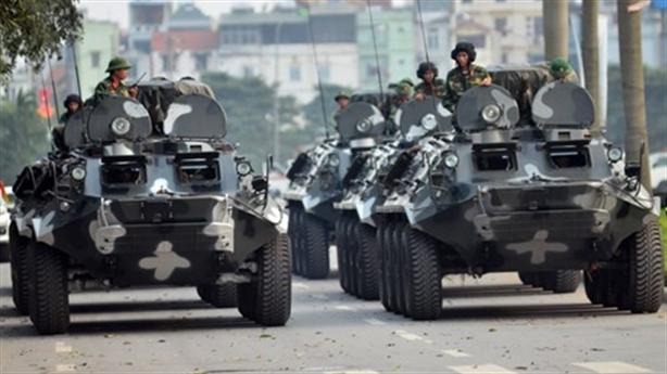 Loạt xe chuyên dụng Việt Nam bảo vệ hội nghị IPU 132