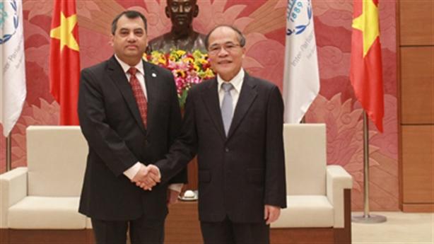 Chủ tịch IPU ấn tượng công tác chuẩn bị của Việt Nam