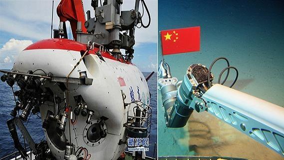 Trung Quốc ngang ngược cắm cờ đáy biển Đông?