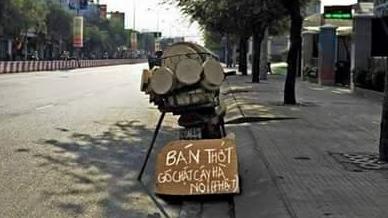 Sự thật 'gỗ thớt chặt cây Hà Nội' bán ở TP.HCM