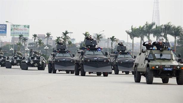 Uy lực dàn xe chiến đấu bảo vệ IPU-132