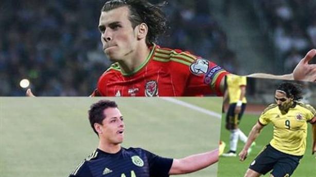Bale, Falcao, Ronaldo, Di Maria: Những bức tranh trái ngược