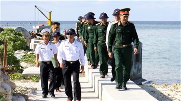 Bộ Tổng tham mưu kiểm tra quần đảo Trường Sa