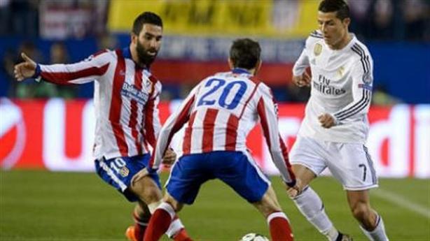 Atletico 0-0 Real: Ronaldo bất lực tại Vincente Calderon