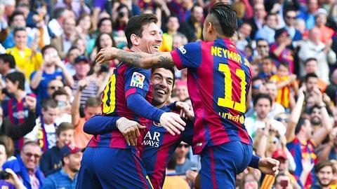 Barcelona 2-0 Valencia: Bàn thắng thứ 400 của Messi cho Barca