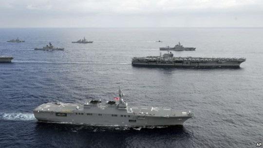 Mỹ dốc lực siết Trung Quốc ở Biển Đông