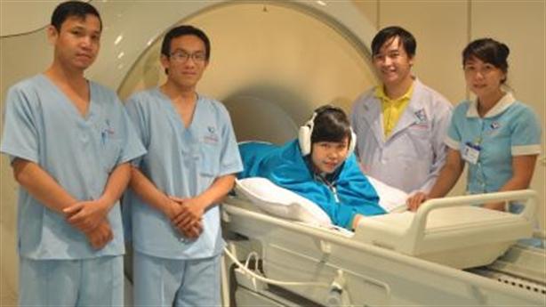 MRI 1,5T Ingenia sử dụng tại BV Quốc tế Phúc An Khang