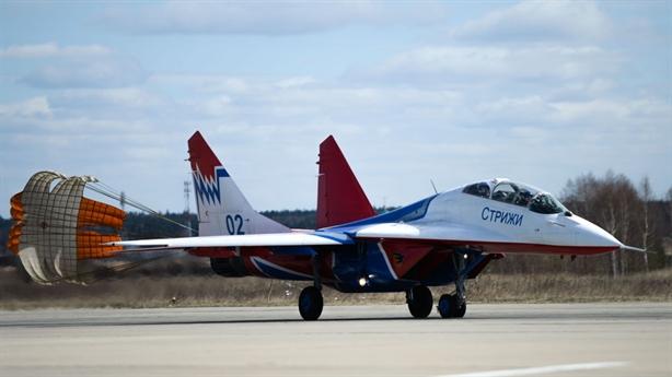 Không quân Nga diễn tập hoành tráng trước Ngày chiến thắng
