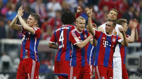 Bayern 1-0 Hertha Berlin: Chạm tay vào điều ước