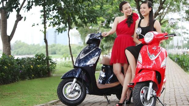 4 xe tay ga cốp to khổng lồ ở Việt Nam
