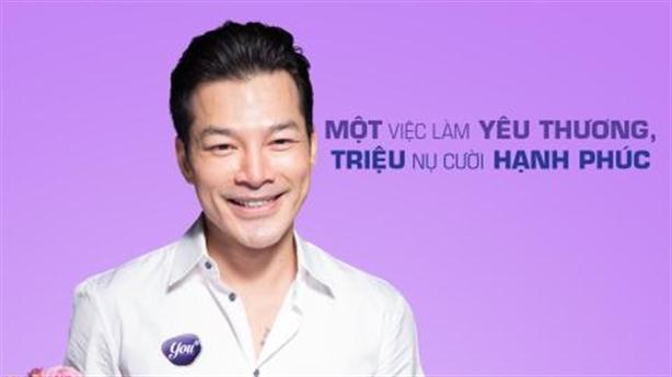 """Trần Bảo Sơn và """"Quyên"""" với chiến dịch """"một triệu nụ cười"""""""