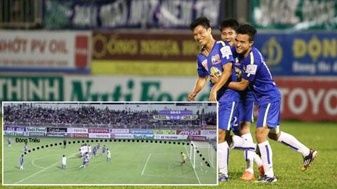 Vòng 12 V-League: Lại thêm siêu phẩm từ Hoàng Anh Gia Lai