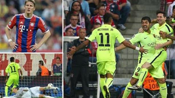 Bayern 3-2 Barcelona: Điều kỳ diệu không xảy ra ở Allianz Arena