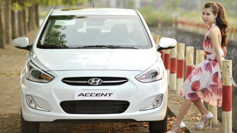 Hyundai Accent: Đối thủ nặng ký của Vios