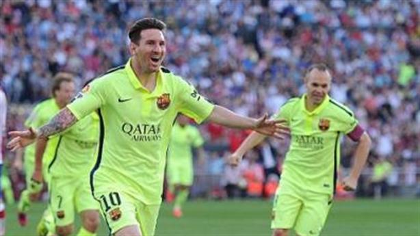 Atletico 0-1 Barcelona: Messi giúp Barcelona chính thức vô địch La Liga