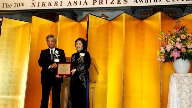 CEO Vinamilk được vinh danh trong lễ trao giải thưởng Nikkei