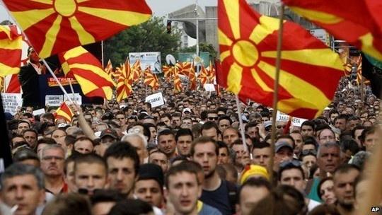 Khủng hoảng Macedonia theo kịch bản Ukraine hay Syria?