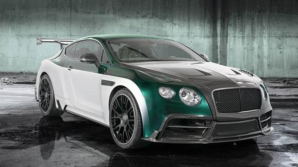 Bentley Continental GT độ GT Race uy lực