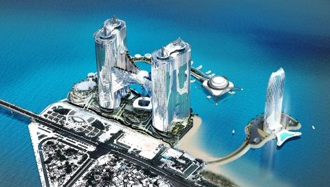 Tháp 65 tầng lấn biển Nha Trang: Đâu là sự thật?