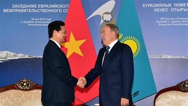 Thủ tướng Nguyễn Tấn Dũng tham dự lễ ký Hiệp định FTA