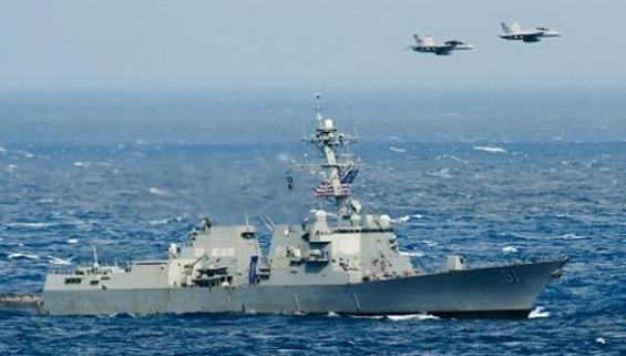 Máy bay Nga lại vừa 'cạo đầu' khu trục hạm Mỹ