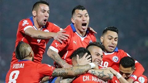 Bảng A Copa America: Mexico bị loại, Chile vào tứ kết