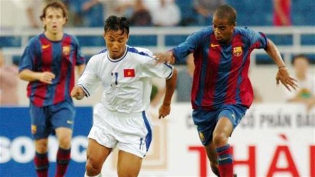 Những đội bóng lừng danh từng đối đầu tuyển Việt Nam