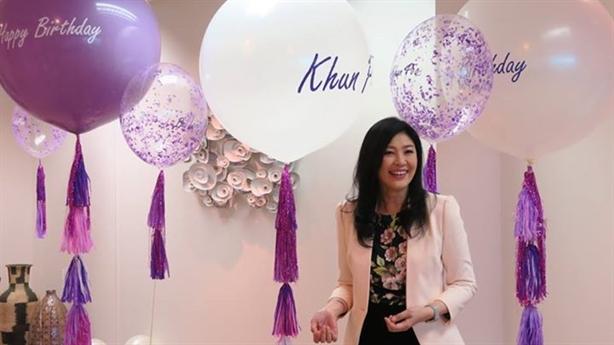 Cựu Thủ tướng Yingluck Shinawatra thành