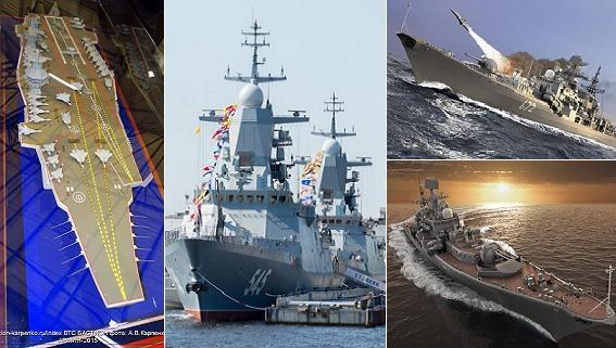 Hải quân Nga quyết thực hiện tham vọng thống trị đại dương