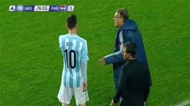 Muốn thay người, HLV Argentina phải hỏi trước Messi