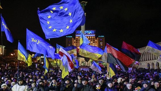 """Đại sứ quán Canada biến thành """"đại bản doanh"""" của Maidan 2014?"""