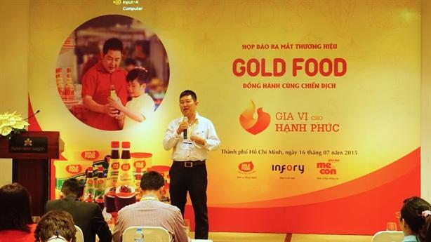 Gotec Việt Nam ra mắt thương hiệu Gold Food