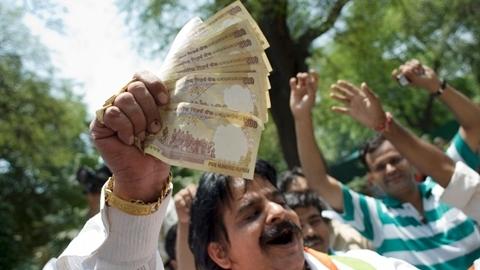 Người giàu Ấn Độ bùng nổ