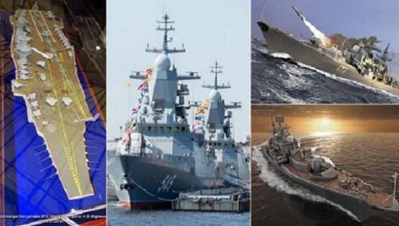 Nga kỷ niệm Ngày Hải quân với niềm tự hào cường quốc