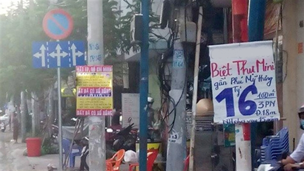 Biệt thự mini giá rẻ rao bán khắp Sài Gòn